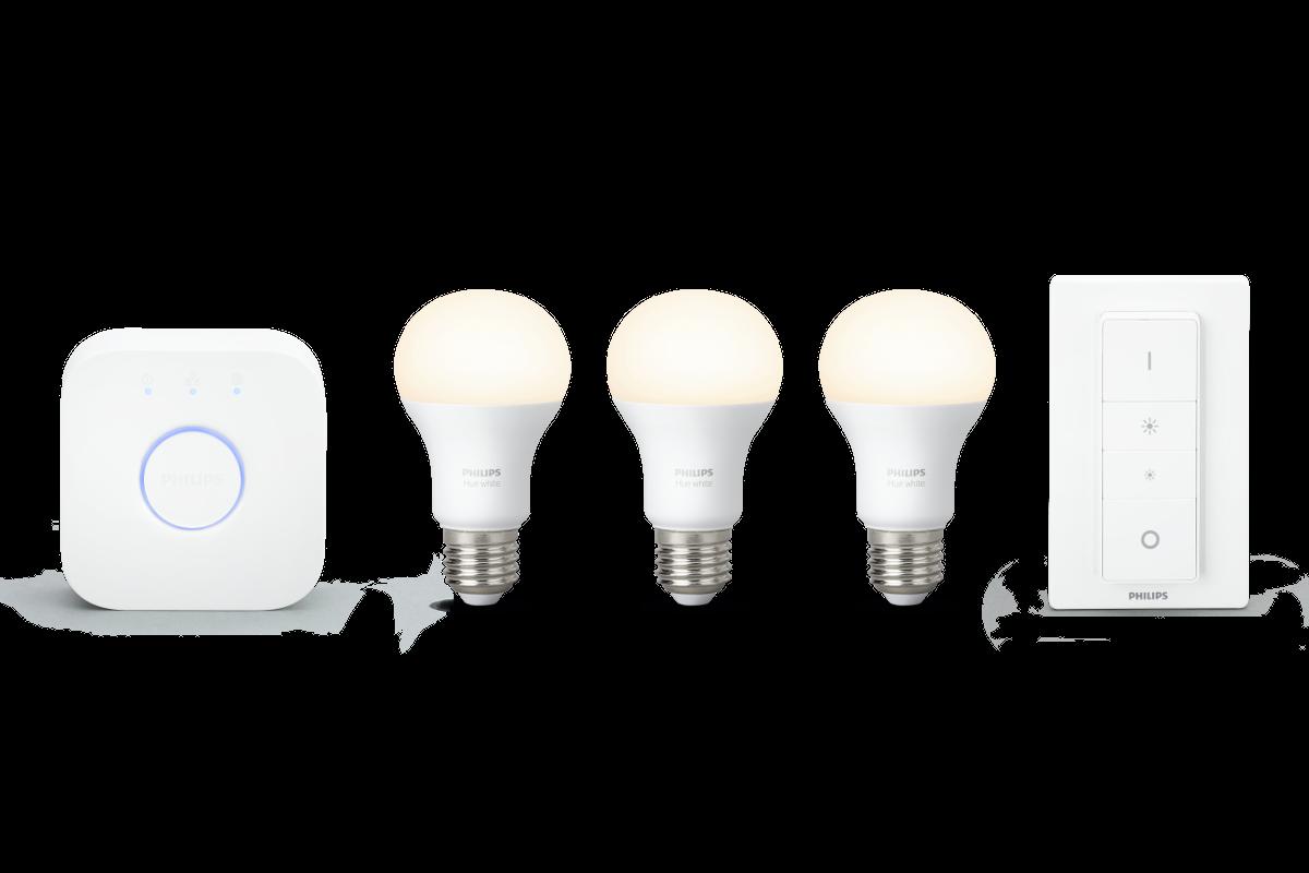 Philips Hue White E27 LED Starter Set drei Lampen | Ergo Magenta ...